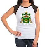 Mathis Family Crest Women's Cap Sleeve T-Shirt