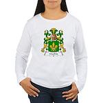Mathis Family Crest Women's Long Sleeve T-Shirt