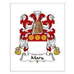 Mary Family Crest Small Poster