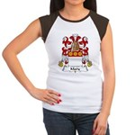 Mary Family Crest Women's Cap Sleeve T-Shirt