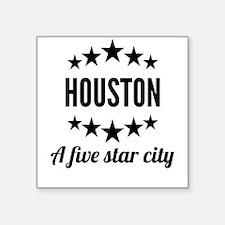 Houston A Five Star City Sticker