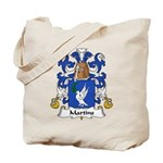 Martins Family Crest Tote Bag