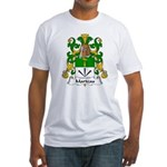 Marteau Family Crest Fitted T-Shirt