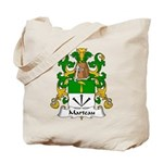 Marteau Family Crest Tote Bag