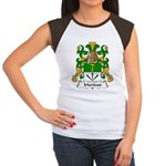Marteau Family Crest Women's Cap Sleeve T-Shirt
