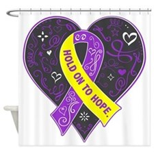 Lupus Endometriosis HOPE Shower Curtain
