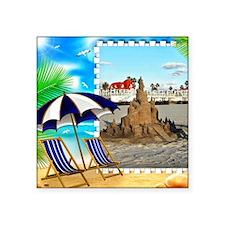 Sandcastle Sticker