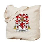Marquis Family Crest  Tote Bag