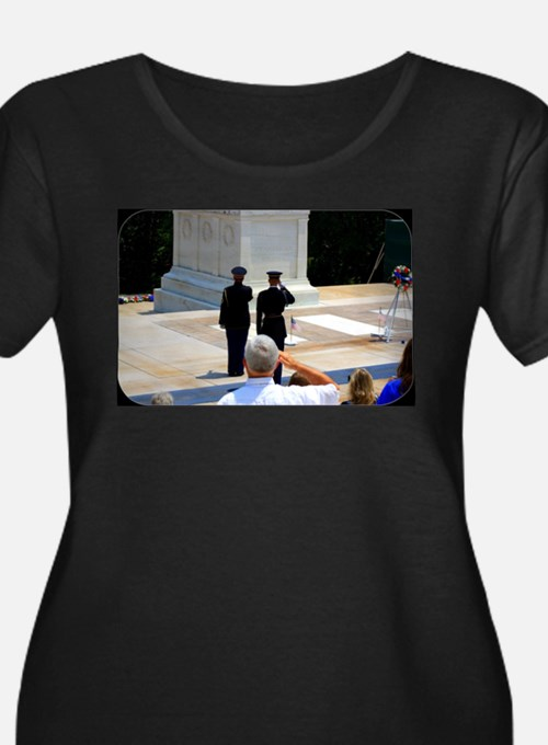 Taps at Tomb of Unknown Plus Size T-Shirt