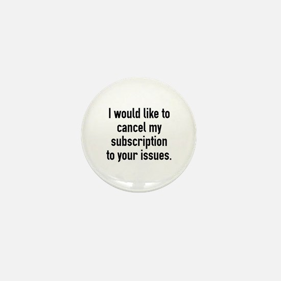 Cancel My Subscription Mini Button (10 pack)