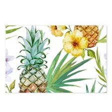Cool Tropical flowers Postcards (Package of 8)