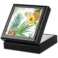 Funny Pineapple Keepsake Box