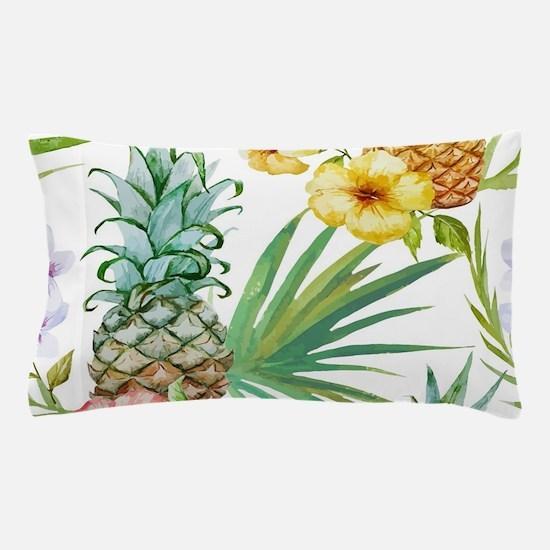 Unique Hawaiian flowers Pillow Case