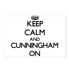 Keep Calm and Cunningham Postcards (Package of 8)