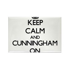 Keep Calm and Cunningham ON Magnets