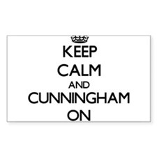 Keep Calm and Cunningham ON Decal