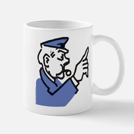 Monopoly Cop Small Mug