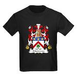 Manceau Family Crest Kids Dark T-Shirt