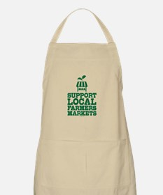 Support Farmers Markets Apron