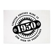 LIMITED EDITION MADE IN 1950 5'x7'Area Rug