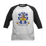 Maisonneuve Family Crest Kids Baseball Jersey