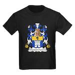 Maisonneuve Family Crest Kids Dark T-Shirt