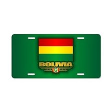 Bolivia Aluminum License Plate
