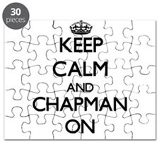 Keep Calm and Chapman ON Puzzle