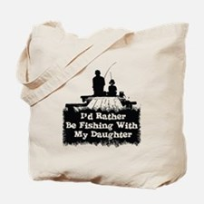 Fishing With  My Daughter Tote Bag