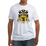 Maire Family Crest  Fitted T-Shirt