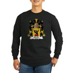 Maire Family Crest Long Sleeve Dark T-Shirt