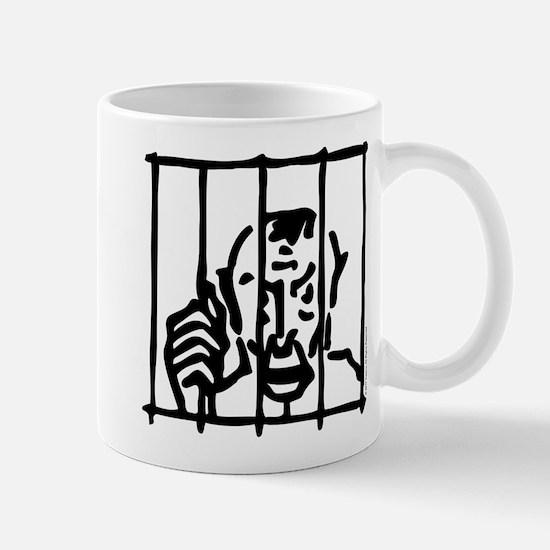 Monopoly In Jail Small Mug