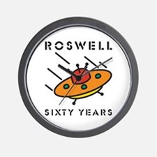 The 1947 Roswell UFO incident Wall Clock
