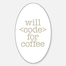 Code For Coffee Decal