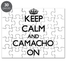 Keep Calm and Camacho ON Puzzle