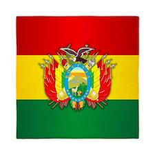 Bolivia COA Queen Duvet