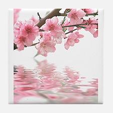 Cute Sakura Tile Coaster