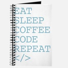 Coffee Code Repeat Journal
