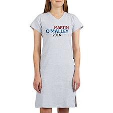 Martin O'Malley 2016 Women's Nightshirt