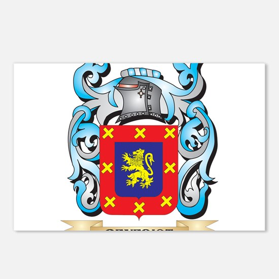 Benedict Coat of Arms - F Postcards (Package of 8)