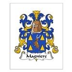Magniere Family Crest Small Poster