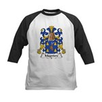 Magniere Family Crest Kids Baseball Jersey