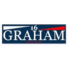 Graham President 2016 Bumper Bumper Sticker