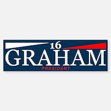 Graham President 2016 Bumper Car Car Sticker