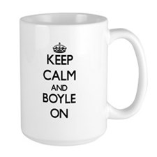 Keep Calm and Boyle ON Mugs