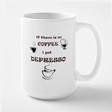 No Coffee Then Depresso MugMugs