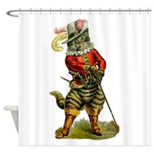 Puss In Boots Shower Curtain
