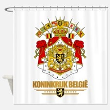 Belgium COA Shower Curtain
