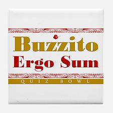 Buzzito Tile Coaster