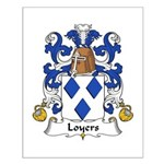 Loyers Family Crest Small Poster